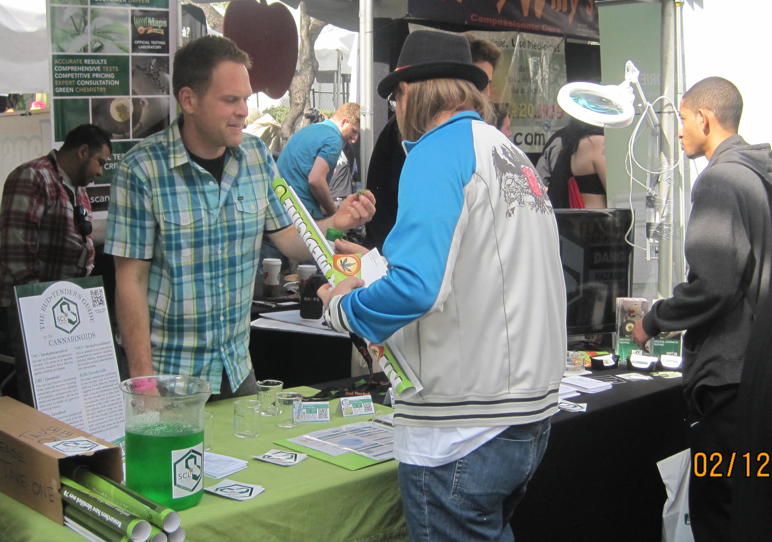 Three Labs Upbeat at High Times Event in LA