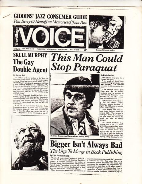 re: Paraquat (cc to Peter Bourne)