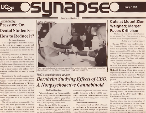 Introducing the International Cannabinoid Research Society —and CBD