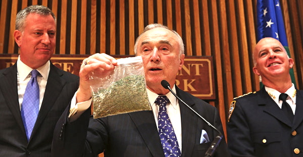 NYPD Chief Says Marijuana Causes Murder