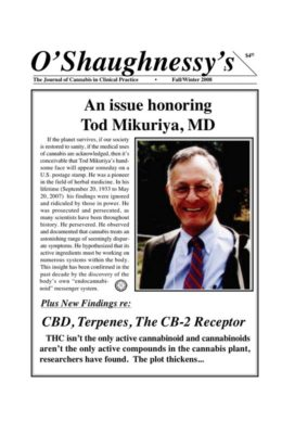 Tod Mikuriya, MD Notes for a Biography