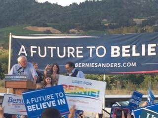 Bernie in Cloverdale