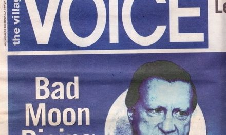 Note to the Editor of the Voice