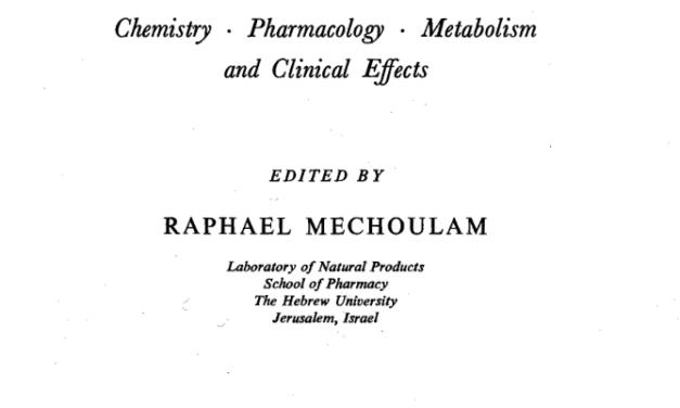 Mechoulam on Clinical Evidence