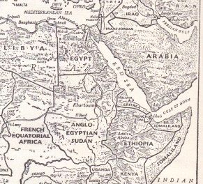 Ethiopia at the end of World War Two