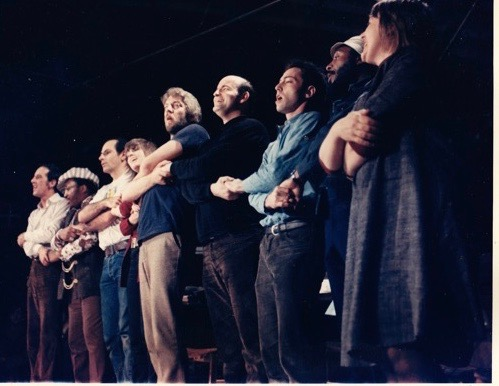 Singing With Dick Gregory in Fayetteville, NC