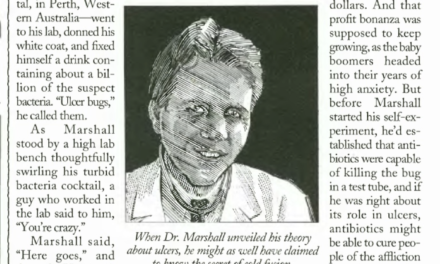 Dr. Marshall's Downplayed Discovery