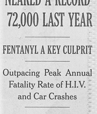The ominous side of banning fentanyl